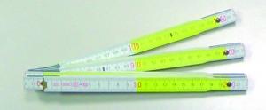 Mètre en bois longueur 2 m