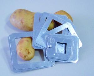 Calibre de poche spécial pommes de terre