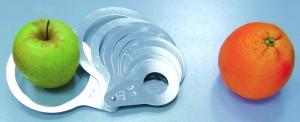 Calibre de poche en aluminium