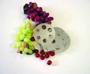 Calibre de poche pour petits fruits