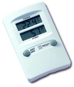Thermo-hygromètre à mémoire