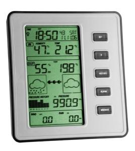 Station météo professionnel radio pilotée