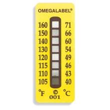 Indicateurs de Température Irréversibles - 8 segments - Lot de 10