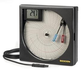 Température et d'hygrométrie sur disques (203 mm) avec affichage LCD