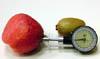Mesurer la fermeté des fruits