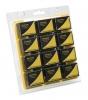 12 Mini-enregistreurs de température & hygrométrie, transfert USB